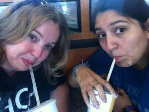 And we got milkshakes!
