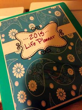 My life planner! Doesn't it make you happy!