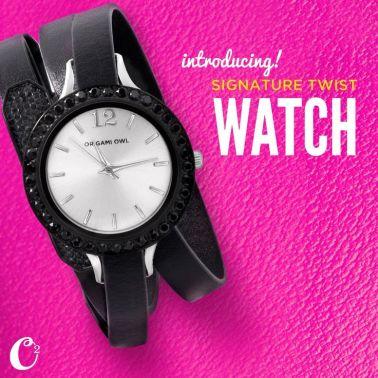 signature twist watch